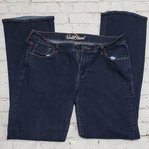 Old Navy Blue Denim Jean Pants Women 12 Jean